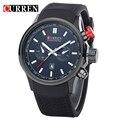 Curren relógio dos homens originais marca de luxo dos homens de negócios de quartzo relógios de pulso relogio masculino8175