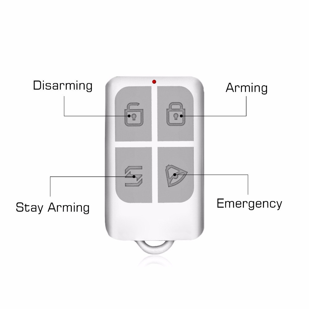 Steady Wireless Remote Control Arm/disarm Keychain Detector For Kerui Touch Keypad Panel Gsm Pstn Home Security Burglar Alarm System Strong Resistance To Heat And Hard Wearing Back To Search Resultssecurity & Protection