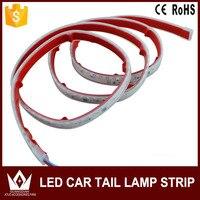 NightLord For Honda City Civic Flexible LED Car Tailgate Light Bar Red And Blue Running Brake