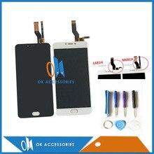 5.5 дюйм(ов) для Meizu M3 Примечание L681H M681H ЖК-дисплей Дисплей + Сенсорный экран планшета Ассамблеи черно-белый цвет 1 шт./лот с Инструменты