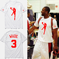 Хип-хоп бренда clothing футболки Уэйд № 3 Спортсменов Стрелять баскетбол джерси тренинг футболки homme, tx2345