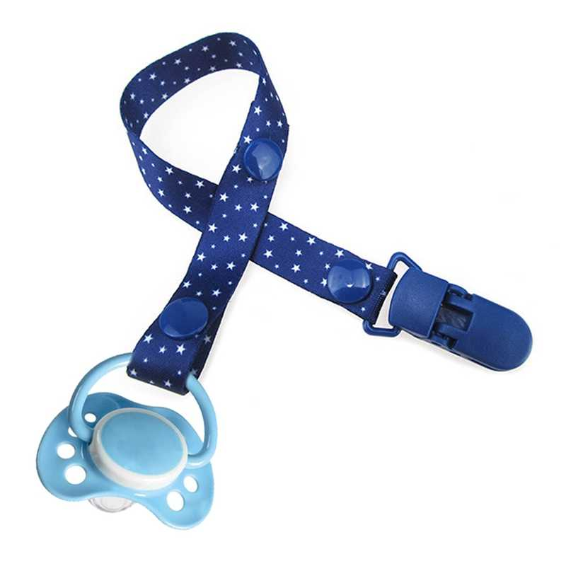 Baby Pacifier Clip Chain Dummy Holder For Nipples Children Pacifier Clips Pacifier Holder Infant Feeding