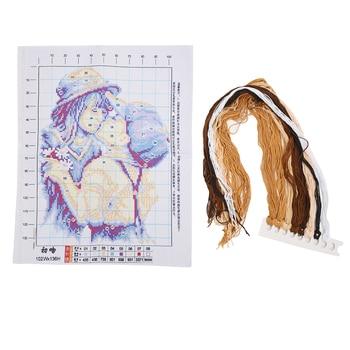 32 * 40 cm Embroidery kits DIY hand motive cross-needle kit of pure love
