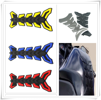 Motorcycle fish Pad Oil Gas Fuel Tank Cover Sticker Decal Protector for BMW K1600 GT GTL R1200GS R1200GS ADVENTURE R1200R image