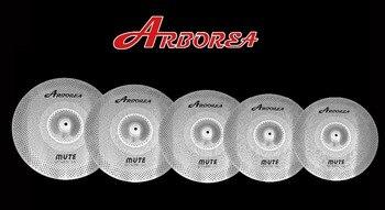 Arborea-Juego de platillos de bajo volumen, 5 piezas, 14