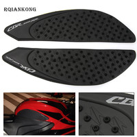Motorcycle Gas Oil Fuel Tank Pad Protector Knee Side Decal Sticker For Honda CBR600RR 2007 2008 2009 2010 2011 2012 CBR 600 RR