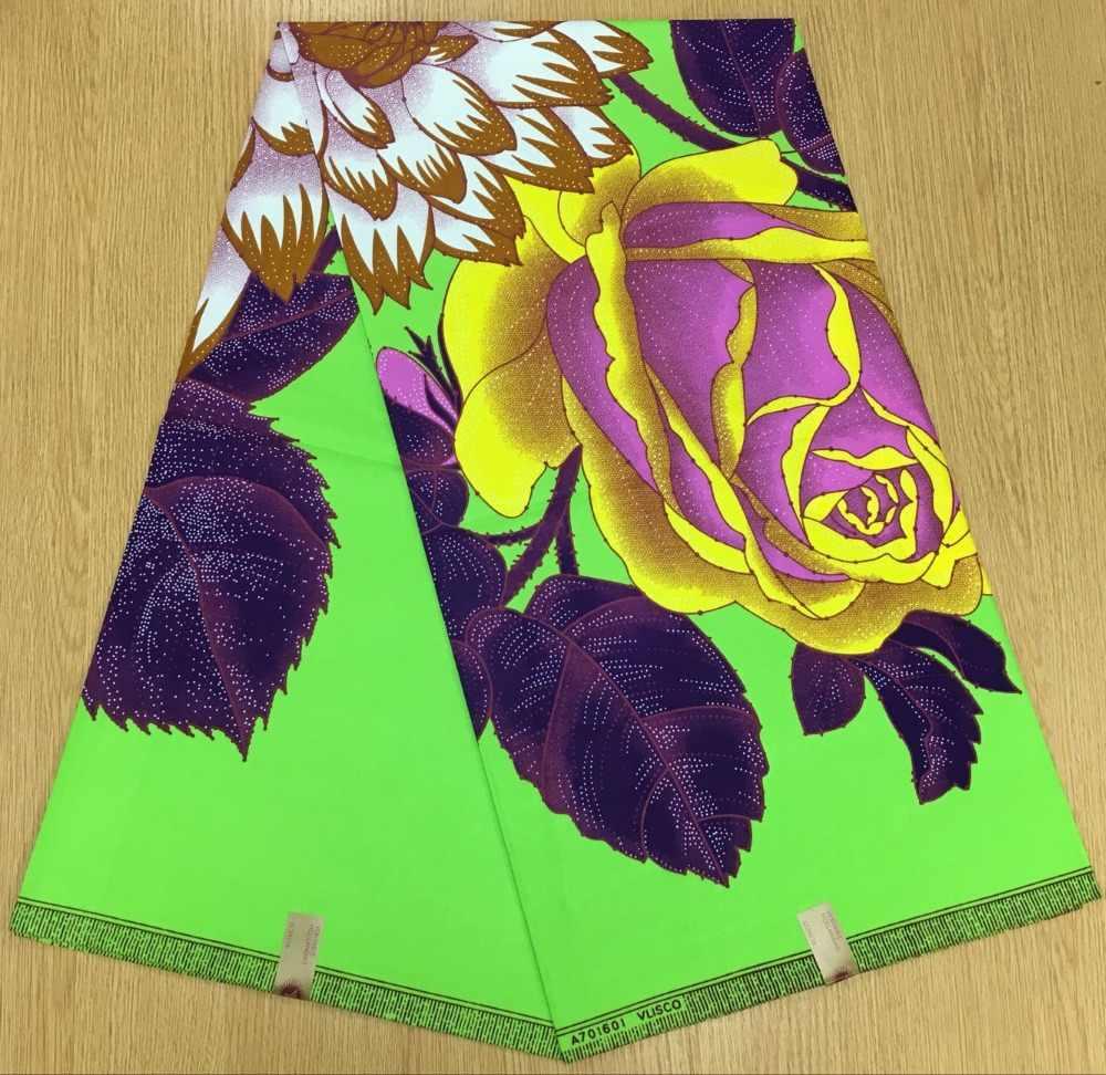 Подробнее Обратная связь Вопросы о Анкара Африканский Воск набивная ткань  текстиль для дивана Африканский батик ткань красивые цветы дизайн с принтом  100% ... 91eab1b97ac4c