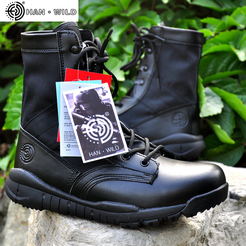 Summer Military Tactical Boot For Men Breathable Oxford Light Soft Desert Combat Shoes Men's Army Ankle Boot