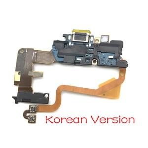 Image 2 - 10 قطعة/الوحدة ، ل LG G7 Thinq G710 موصل هيكلي مايكرو شاحن يو اس بي شحن ميناء فليكس كابل مجلس مع ميكروفون استبدال أجزاء