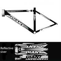 2019 Bike Accessories Bike Decals Frame Decals Water Protector Bike Stickers Reflective Stickers