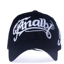 """Embroidered """"Finally"""" Dad Hat"""