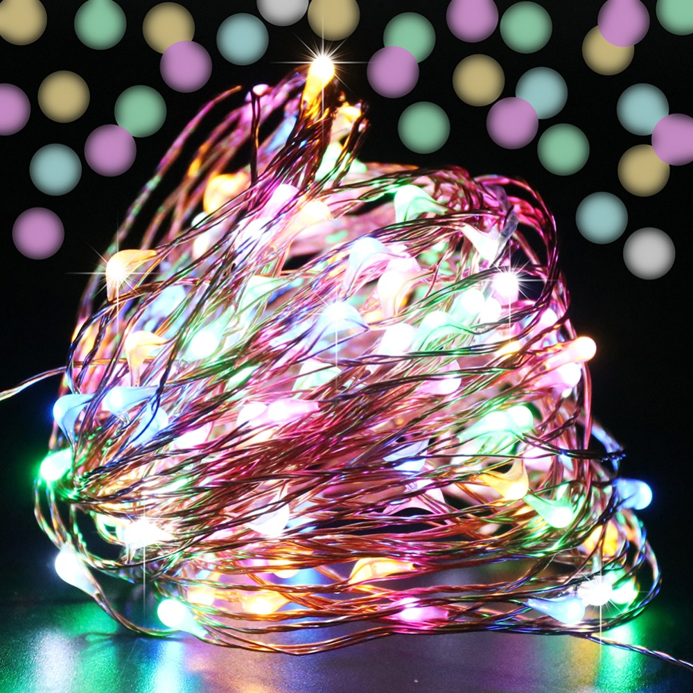 Colorful Mini Luces Led Decoracion Christmas Tree Night Light Lamp Christmas Lights Outdoor