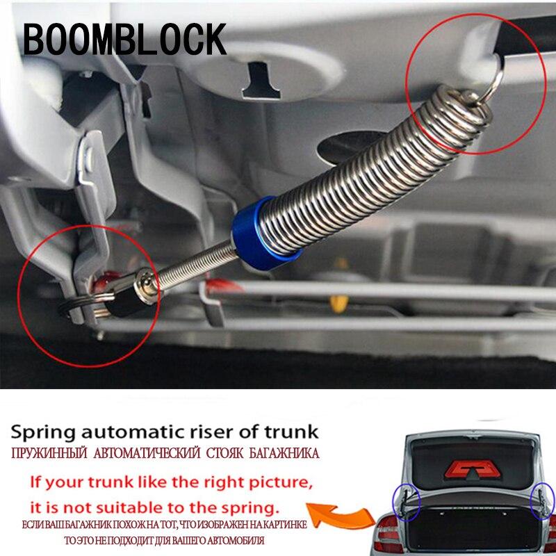 BOOMBLOCK 1pcs Car Trunk Automatic Lift Spring For Bmw E46 E39 Audi A3 A6 C5 A4 B6 Mercedes W203 W211 Mini Cooper Accessories