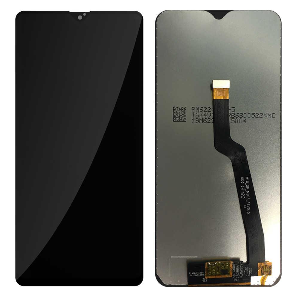 جديد شاشات lcd لسامسونج غالاكسي A10 A105 A105F SM-A105F شاشة الكريستال السائل مع محول الأرقام بشاشة تعمل بلمس