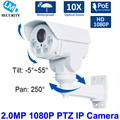 2016 Hot Selling New CCTV Camera 1080P 2MP 10X Zoom IP Bullet PTZ Camera IP66 Weatherproof Mini IR IP Camera PTZ Security Model