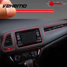 New Molding Accessory Red Gap Line Universal Car Auto Interior Decoration