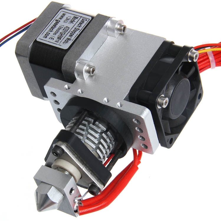 Geeetech GT5 Bowden Extruder for Reprap Kossel 3D Printer J-head Hotend Stepper Motor Nema17 3d printer accessory reprap j head mkiv mkv hotend nozzle wade bowden extruder for choice top quality free shipping
