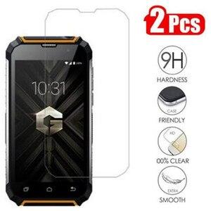 Image 1 - Verre trempé pour Geotel G1 protecteur décran 9 H 2.5D téléphone sur verre de protection pour Geotel G1 3G 5.0 pouces verre