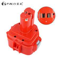 For Makita 12V 3000mAh Rechargeable Power Tools Battery for Mak Drill PA12 1050 1220 1222 1234 4000 5000 6200 6300 Series Ni-MH