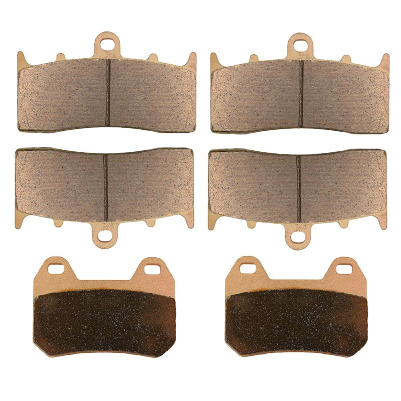 Motorcycle Front and Rear Brake Pads for BMW K1200LT K 1200 LT (Evo Integral ABS) 2000-2009 Sintered Brake Pads image