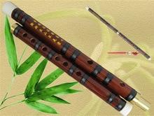 Chino Natural amargo bambú flauta C/D/E/F/G Clave pan hulusi transversal flauta compre uno y enviar 5 accesorios