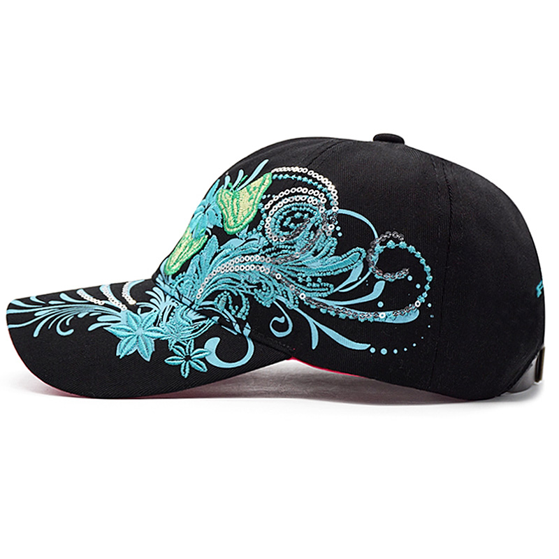 undefeated x cd5d4 77cb5 lovingsha rhinestones baseball cap women men spring  floral snapback summer cap girl fitted cap autumn hat ad089 a19bb8b5efa0