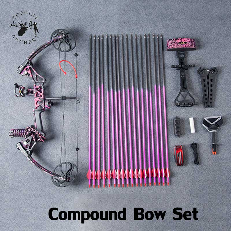 Ship From USA Warehouse Compound Bow Package M1 Archery for Women Right hand Archery Hunting Bow CNC Milling Bow Riser 19-70lbs боевой флот комплект из 6 книг