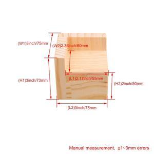 Image 2 - 4 stuks 7.5x7.5x7.3 cm L Vormige Semi Gesloten Lift Houten Bed Bureau Riser Lifter tafel Meubels Voeten Lift Opslag