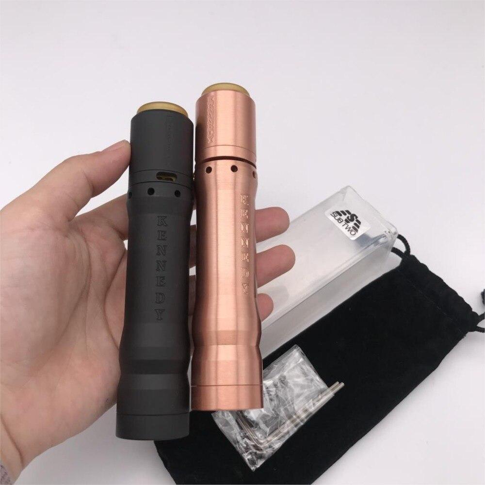 Sous deux Kennedy vindicateur Mod Kit 510 mécanique E Cigarette Kit 18650 20700 21700 batterie 26mm diamètre Vape stylos Mod Vape Kit