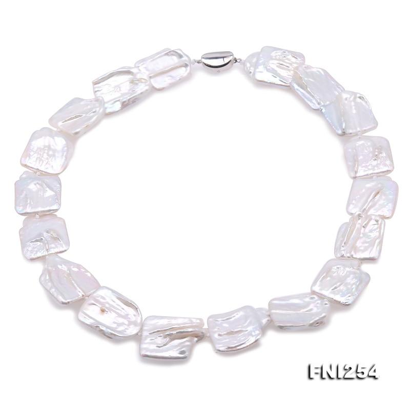 JYX collier de perles baroques fines AAA grande pièce colliers classique mer du sud perle de culture chaînes fermoir argent cadeau de noël