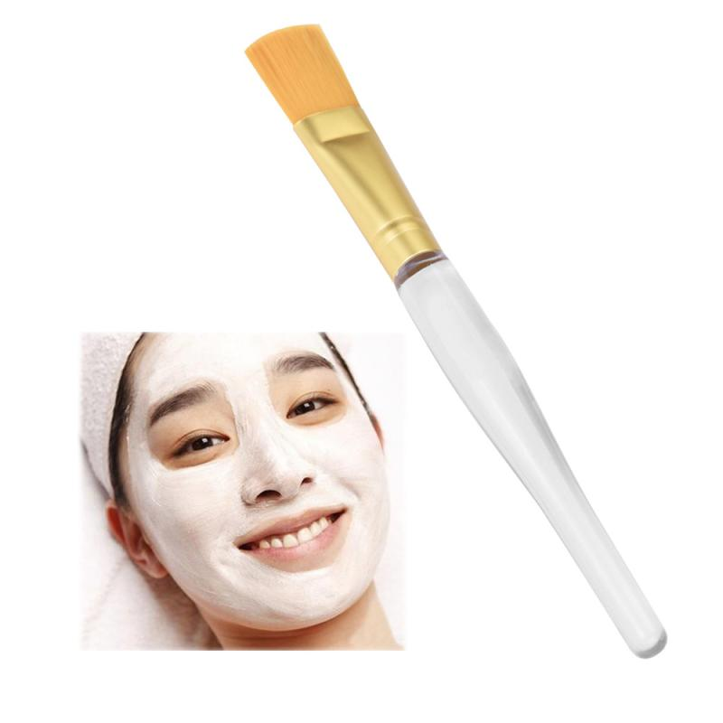 1PC Facial Face Mud Makeup Mask Brush Nylon fiber Cosmetic Brush Gold Silver Cosmetic Makeup Kit 3AP27-in Eye Shadow Applicator from Beauty & Health on ...