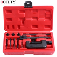 OOTDTY Bike Motorcycle Professional Chain Splitter Breaker Link Rivet Riveter Tool Set