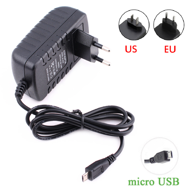 Micro Usb Adaptor 5v 3a 2a 2 5a 5 V Volt 100 240v Adapter Supply Charger For Raspberry Pi 3 Zero Model B Tablet Pc 5v3a