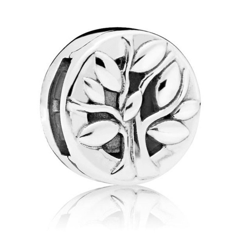 925 Sterling Silver Bead Reflexions Tree of Life Clip Charm Fit Original Pandora Reflexion Bracelet for Women DIY Europe Jewelry in Beads from Jewelry Accessories