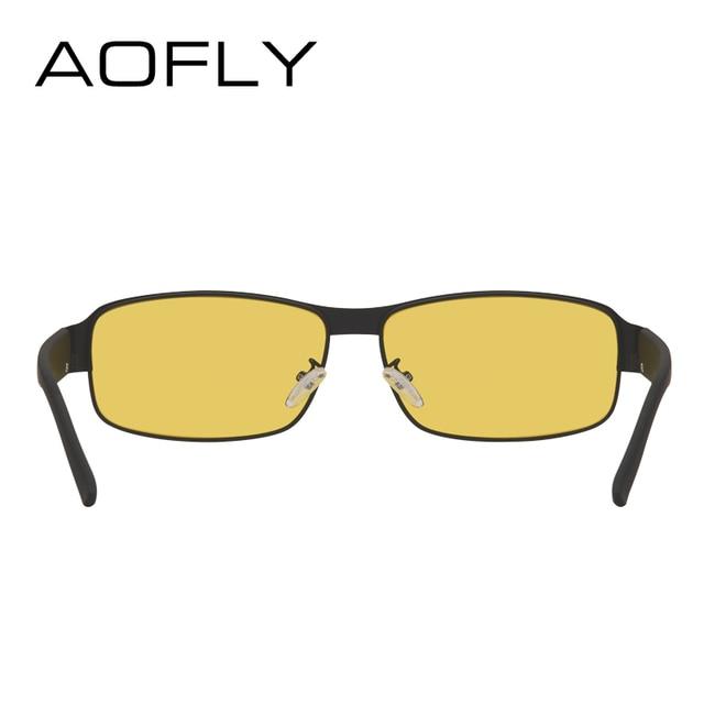 AOFLY Night Vision Glasses Brand Design Polarized Sunglasses Women Men Driving Anti-Glare Goggles AF8045 3