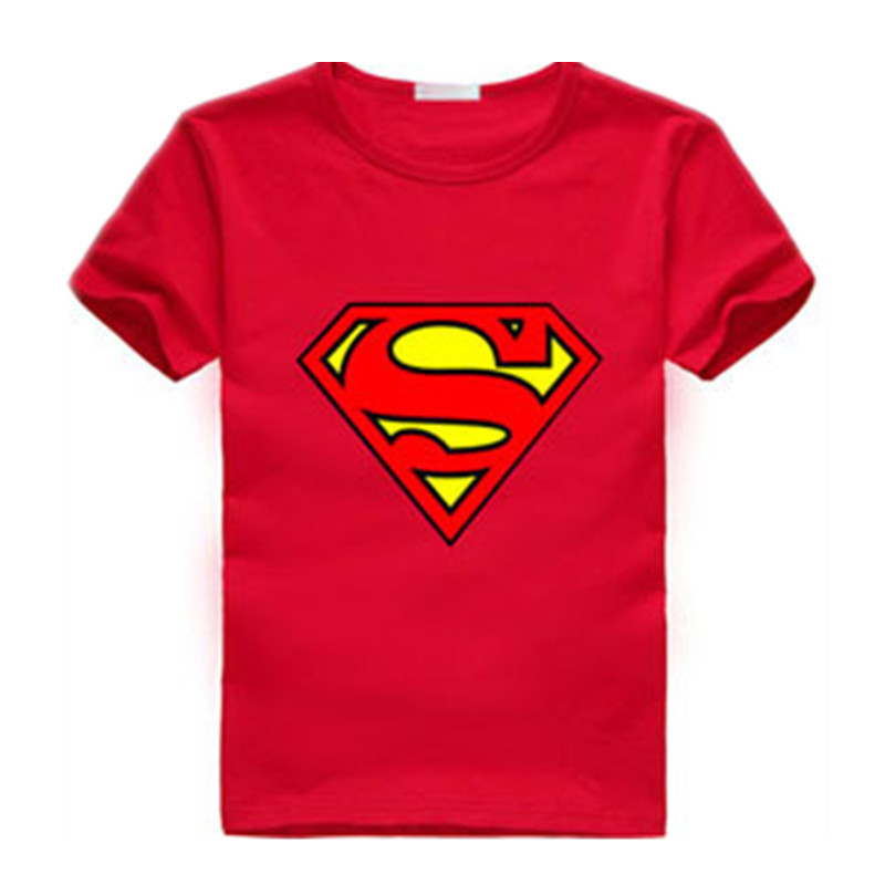 Lollas New Summer Boys T shirt Popular Hero Cotton Short-sleeved T-shirt Printing Cartoon Gray Kids Boys Childs Clothes