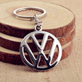 Hot Sale Fashion Metal 3D Car Logo Key Rings Keyring Key Chain Keychain for Volkswagen VW Car Styling Key Holder Free Shipping