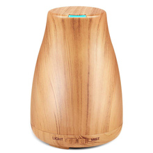 aroma diffuser 120ml essential oil diffuser ultrasonic air humidifier 7 Color Changing LED Light home Aromatherapy machine недорого