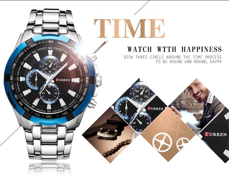 relógio masculino ponteiro www.descontomagico.com