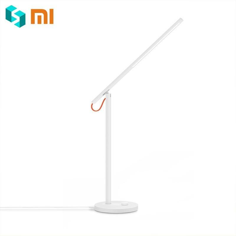 Original Xiaomi Mijia Smart LED lampe de bureau vente chaude Xiaomi lumière LED lampes de Table intelligentes télécommande avec Redmi 4 Mode d'éclairage