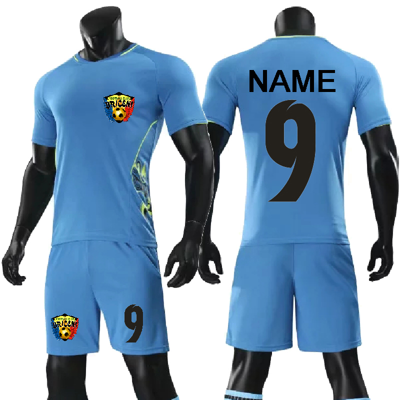 33f4dc217 children football uniforms breathable men boys Soccer Jersey Set 2018 2019  New youth Kids soccer team training suits customized-in Soccer Sets from  Sports ...