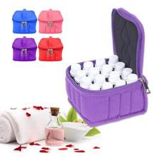Portable 16 Bottle 15ml Essential Storage Bag Storage Bag Beauty Salon Desktop Storage Box Container Casket Closet Organizer S4