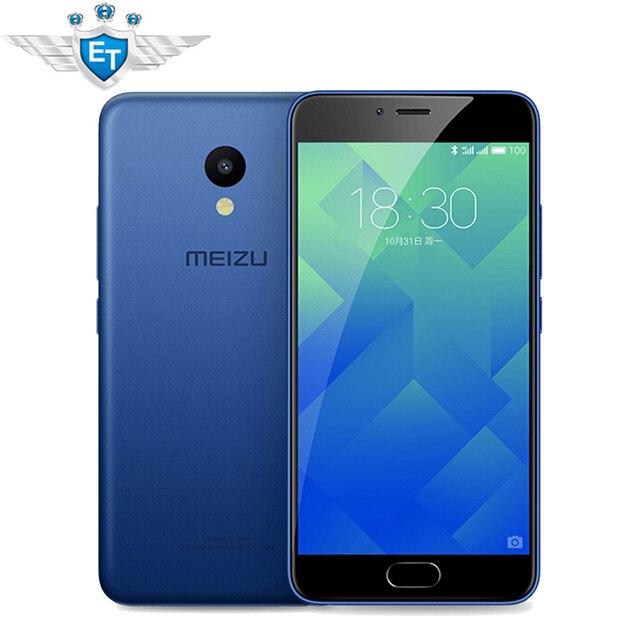 Оригинал Meizu M5 смартфон 2 ГБ Оперативная память 16 ГБ Глобальный Встроенная память 5.2 дюймов 1280x720 экран MTK6750 Восьмиядерный 13.0MP mtouch 2.1 отпечатков пальцев