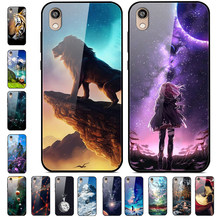 For Huawei Y5 2019 Case Tempered Glass Cover hard Phone Case For Huawei Y5 2019 AMN-LX9 AMN-LX2 AMN-LX1 Y6 2019 Y 5 6 2019 Case(China)
