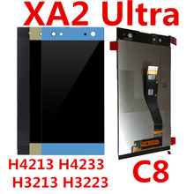 For SONY Xperia XA2 Ultra C8 H4233 H4213 H3213 H3223 LCD Display Touch Screen with Frame Digitizer Display LCD все цены