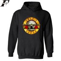Rock Band Punk Guns N Roses Fashion Hoodies Men Hip Hop Black Casual Hoodie Sweatshirt Women