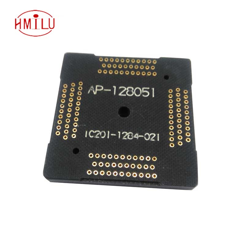 QFP128-0.5 New receptacle pin board adapter board pinboard Longer usage lifetime than Stable Quality