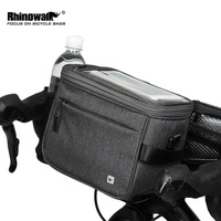 4.5L Multifunction MTB Road Folding Bike Storage Bag Touch Screen Pouch Panniers Waterproof Bicycle Handlebar Front Tube Bag