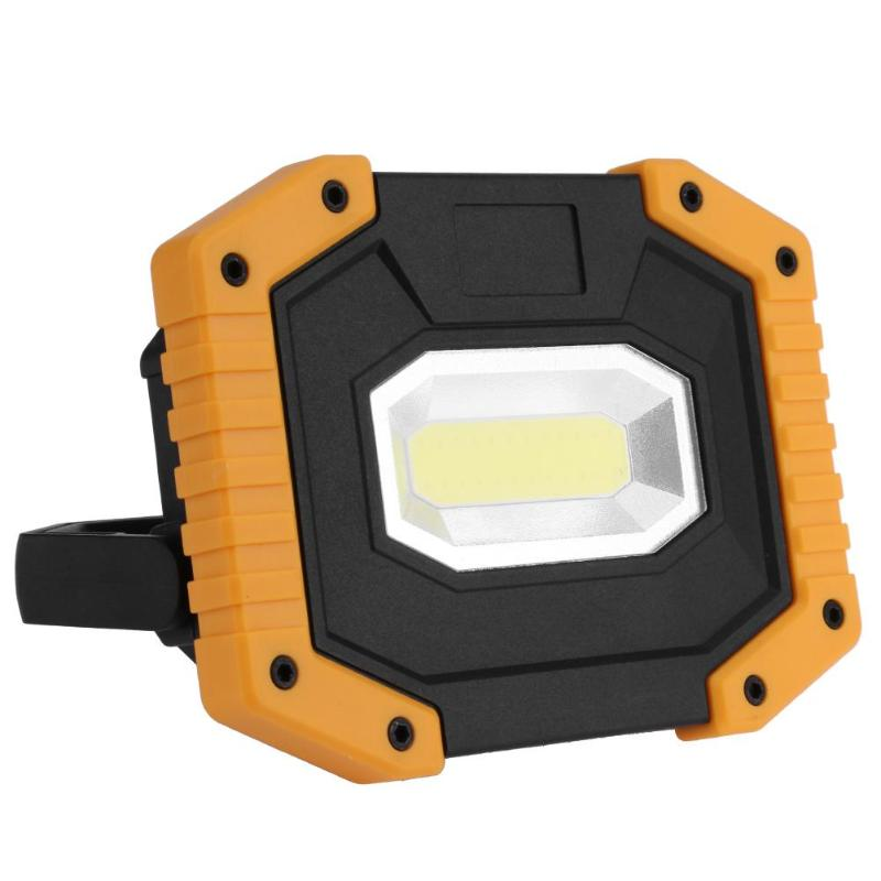 Outdoor Portable LED Work Light Waterproof Emergency USB Rechargeable Lamp Searchlight Vehicle Maintenance Camping Lamp