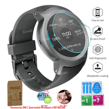 10Pcs/Lot(5Films+5Wipes)For LG Watch Sport W280A Smartwatch Protective Film Clear Guard Screen Protector Cover Tempered Glass